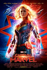 Captain Marvel Poster and book cover